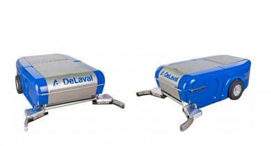 Delaval: deux nouveaux robots à lisier pour sols pleins