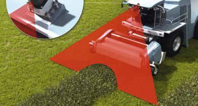 Un Lidar 2D pour guider l'ensileuse ou la presse en fonction de l'andain