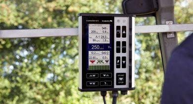 Bogballe: automatisme et technologie avec le terminal Calibrator Totz