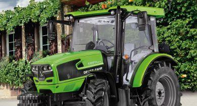 Deutz-Fahr complète son offre de tracteurs de petites puissance avec la série 5D Keyline. © Deutz-Fahr