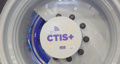 La solution de télégonflage CTIS+ Inside s'intègre directement au tracteur.