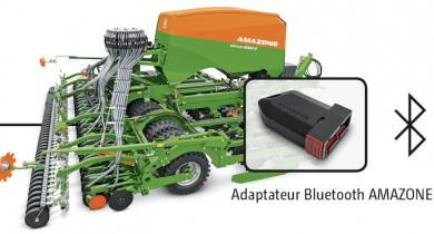 Un adaptateur Bluetooth pour dialoguer entre la machine et le terminal