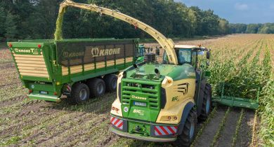 Krone élargit sa gamme avec la nouvelle BiG X 1180. © Krone