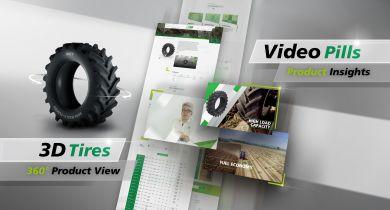 BKT: visualisez en 3D les gammes de pneus.