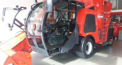 Une cabine VisioSpace pour les désileuses automotrices.