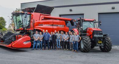 L'entreprise KM Agri est présente dans le Loiret, l'Est du Loir-et-Cher et dans le sud de la Seine-et-Marne. © Case IH