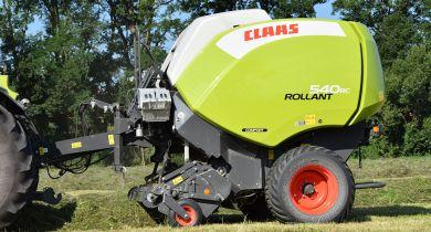 Claas lance un nouvelle génération de presse Rollant. © GL / Pixel Image