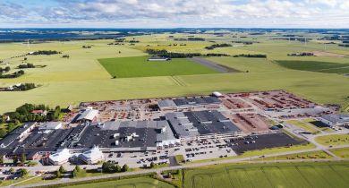 Un nouveau bureau d'études et une nouvelle extension pour l'usine à Väderstad