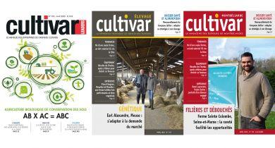 Les numéros d'avril de Cultivar et Cultivar Élevage disponibles gratuitement !