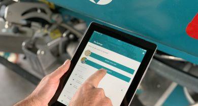 Sulky: l'application Fertitest mobile pour assister le réglage des épandeurs d'engrais