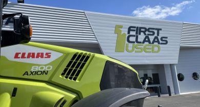 Le 1er site First Claas Used et First Claas Rental mis en place en France