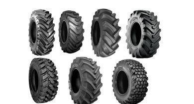 BKT lance une gamme de pneus pour les chargeuses télescopiques. © BKT