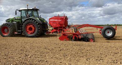 Un essieu pour le combiné de semis Pronto 6KR