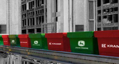 John Deere et Kramp renforcent leur partenariat. © John Deere