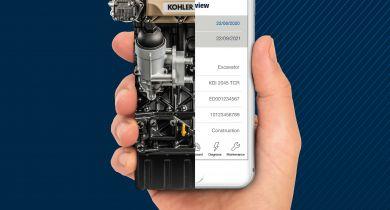 Kohler : une application pour la surveillance et la maintenance des moteurs.