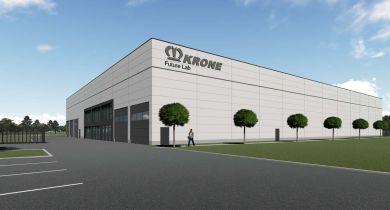 """Le centre d'essais """"Future Lab Krone"""" travaillera notamment sur le concept de véhicule autonome."""