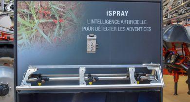 Le concept de pulvérisation i-Spray a été présenté en avant-première lors du Sima. © GL / Pixel6TM