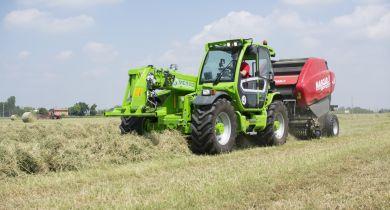 Merlo annonce que les Multifarmer Medium Duty peuvent servir de tracteurs. © Merlo