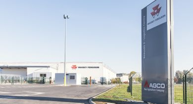 Massey Ferguson étend son site de beauvais avec un nouveau centre logistique. ©  Massey Ferguson