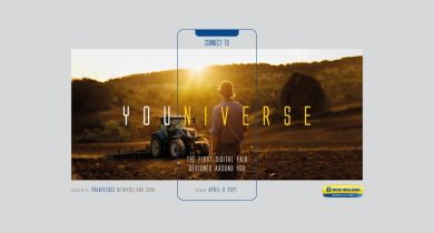 Youniverse, un salon agricole numérique pour Case IH et New Holland