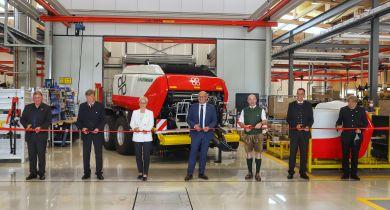 Pöttinger: une quatrième usine inaugurée et aussitôt agrandie