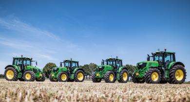 De nouvelles options pour la gamme 6M de John Deere.