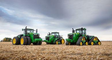 John Deere: la série 9R gagne en puissance et en technologie