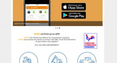 Go4ioT: le système antivol Khiko se dote d'un nouveau site internet
