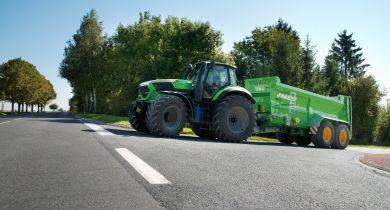 Les tracteurs de plus de 180 ch passent au Stage V. © Deutz-Fahr