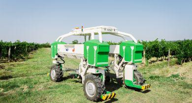Une nouvelle version du robot viticole Ted