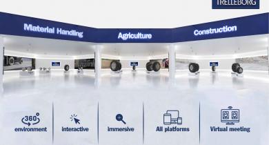 Trelleborg: lancement d'un showroom virtuel.