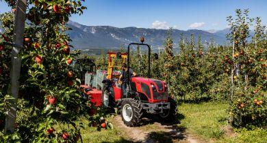 Retour aux tracteurs spécialisés avec la gamme F !